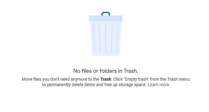 Empty Trash Folder - How to Delete Google Drive Trash Files All at Once 13