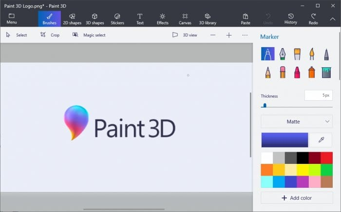 Paint 3D Program - How to Resize Image in Paint 3D Easily 1