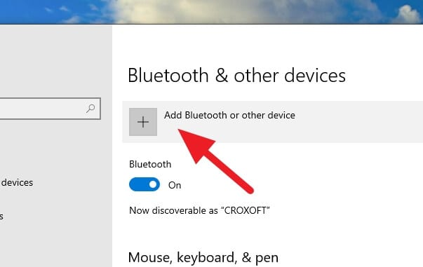 Add Bluetooth device - How to Auto-Lock Windows 10 PC When You Leave 11