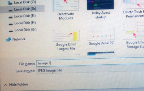 JPEG Format - How to Change Default File Format in PicPick 13