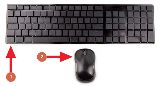 Keyboard and mouse - 3 Easy Ways to Open Link in New Tab in Google Chrome PC 5