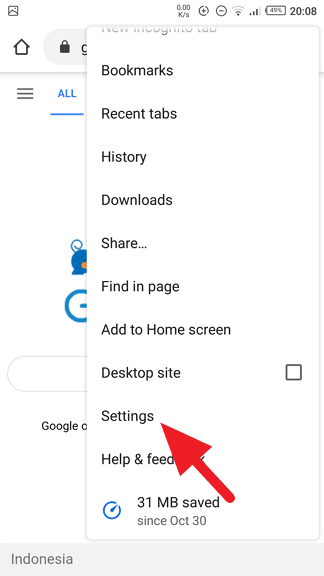 Settings Chrome - How to Hide Home Button on Google Chrome Android 7