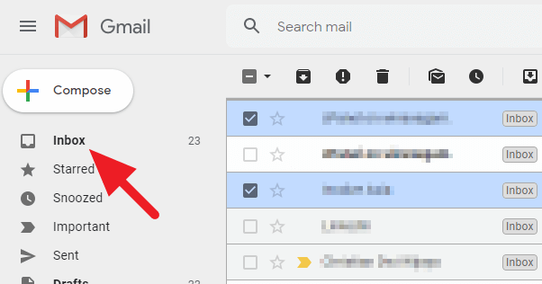 go to - How to Find Archived Email on Gmail Desktop 15