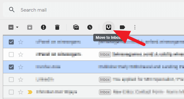 move to - How to Find Archived Email on Gmail Desktop 11