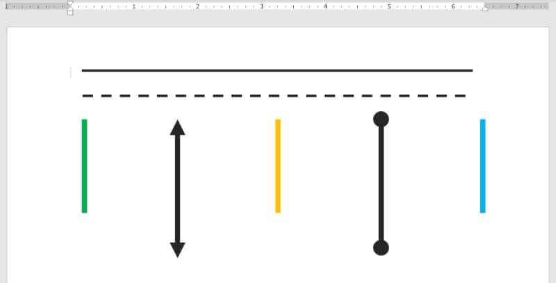Lines in Microsoft Word - How to Create a Straight Line in Microsoft Word Effortlessly 13