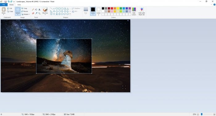 Multiple images in Paint - How to Insert Multiple Images in Microsoft Paint 3