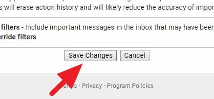 Save changes - How to Find Unread Emails in Gmail: 3 Ways 23