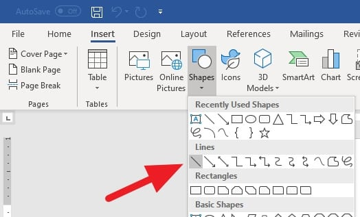 Shapes Lines - How to Create a Straight Line in Microsoft Word Effortlessly 7