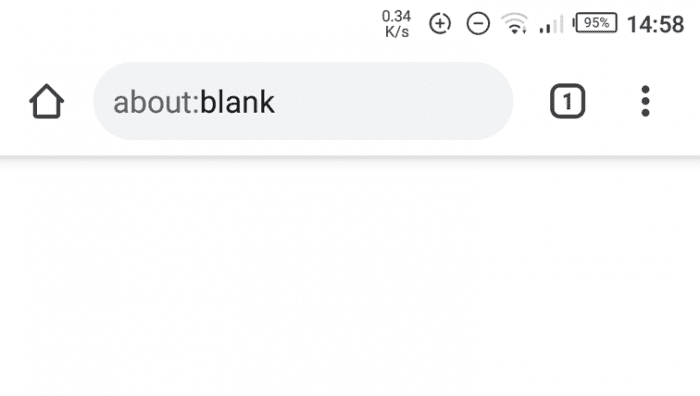 blank home page - How to Make Chrome Android Start with a Blank Page 7