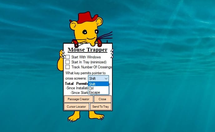 mouse trapper options - How to Lock Mouse to One Monitor in Windows 10 PC 13