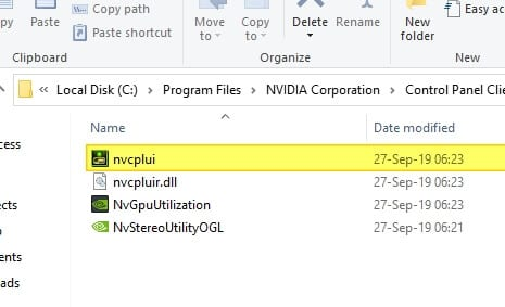 nvcplui - How to Access Missing NVIDIA Control Panel Without Reinstall Driver 7
