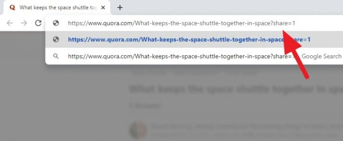 share 1 - How to Open Quora's Link Without Login 7