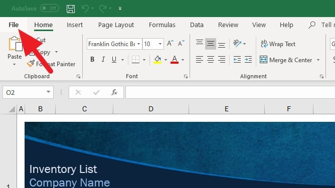 File - How to Convert Excel to a Delimited Text File 7