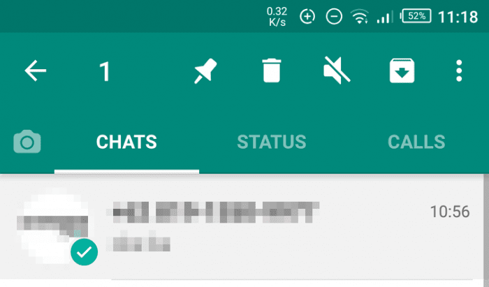 How to archive WhatsApp messages - How to Archive / Unarchive WhatsApp Messages 1