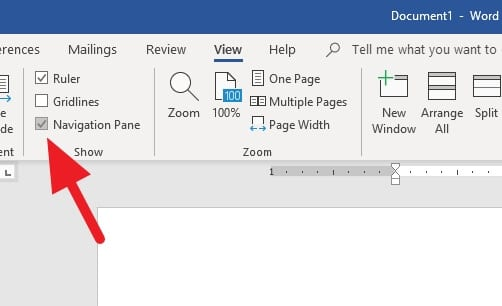Navigation Pane - How to Change Page Order in Microsoft Word 17