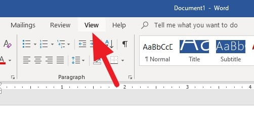 View Word - How to Change Page Order in Microsoft Word 15