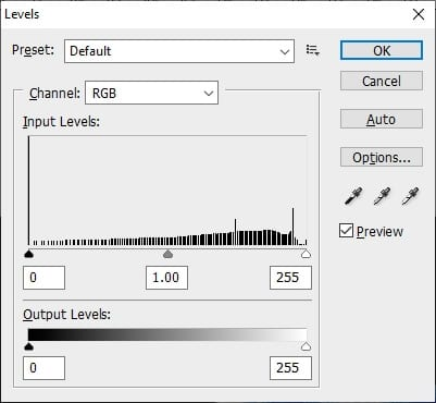 adjust the level - How to Invert Colors in Photoshop 13