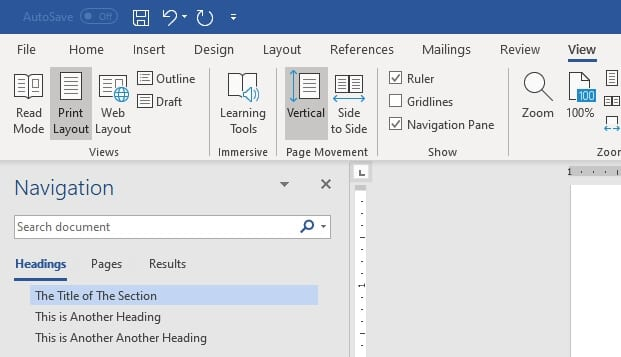 heading map - How to Add Heading in Microsoft Word 15