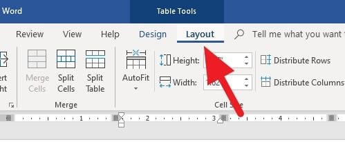 layout - How to Remove Table without Deleting Text in Microsoft Word 7