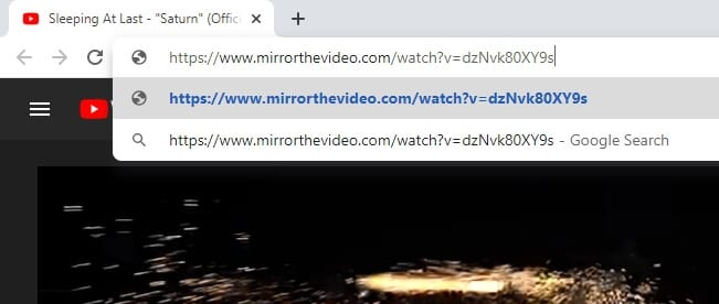 mirrothevideo - How to Flip Youtube Video Horizontally 15