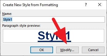 modify - How to Add Heading in Microsoft Word 21