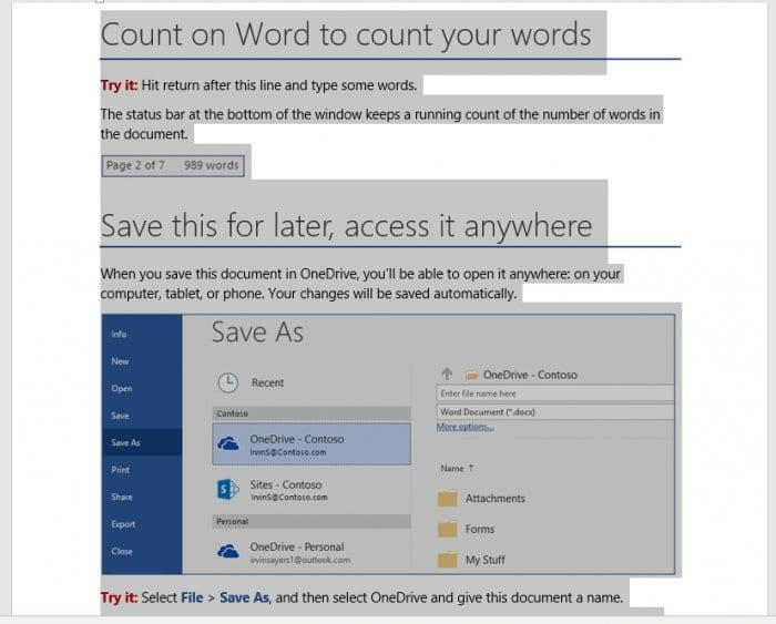 select page - How to Change Page Order in Microsoft Word 7