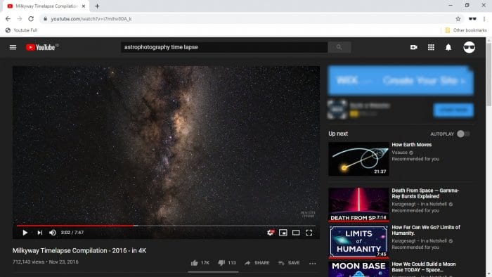 youtube video - How to Hide Youtube Bar When Video Paused 1