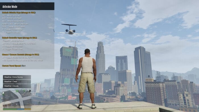 Airbrake Mode - How to Disable Airbrake Mode on GTA V PC 1