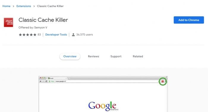 Classic Cache Killer 1 - How to Prevent Chrome from Storing Cache 5