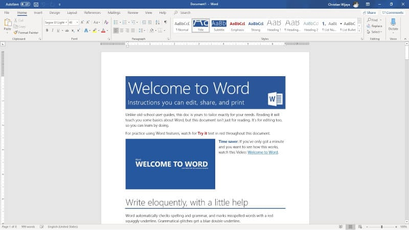Microsoft Word - How to Count Characters in Word Document 5