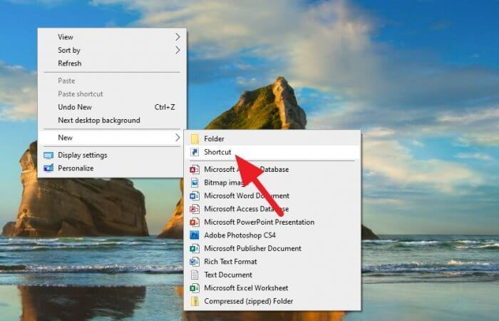 New Shortcut 2 - How to Create Chrome Incognito Mode Shortcut on Desktop 5