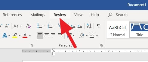 Review - How to Count Characters in Word Document 7