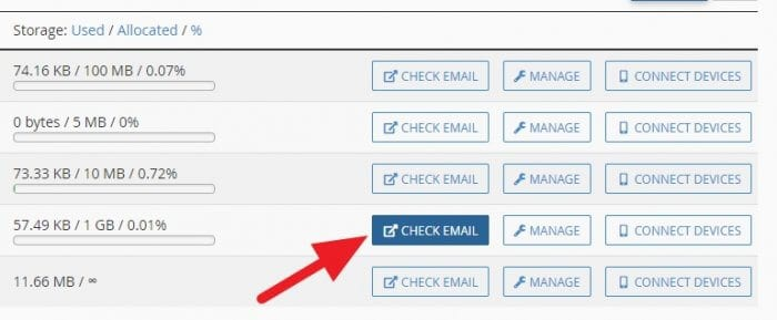 check email - How to Create Email Account in cPanel 13