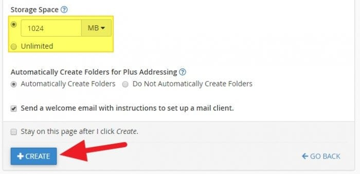 create - How to Create Email Account in cPanel 11