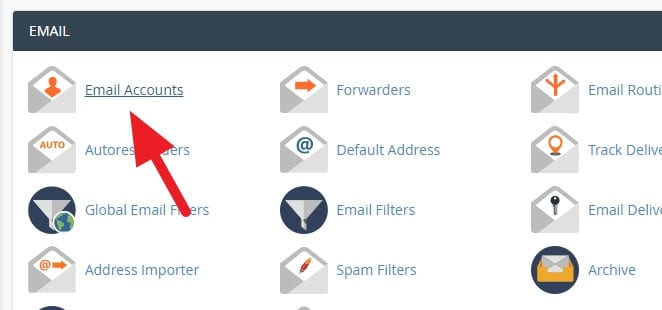 email accounts - How to Create Email Account in cPanel 13
