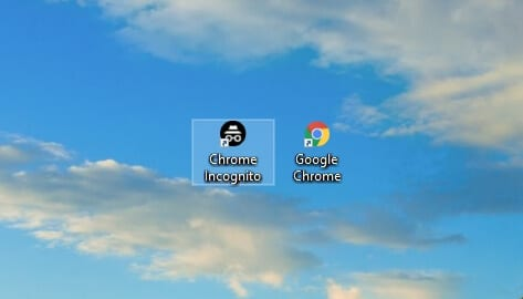 google chrome incognito 2 - How to Create Chrome Incognito Mode Shortcut on Desktop 21
