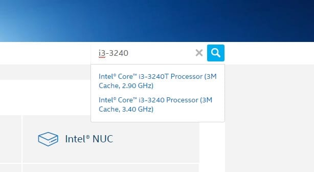 select processor - How to Check Intel HD Graphics Version 7
