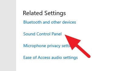 sound control panel - How to Access Windows 10 Legacy Sound Setting 7
