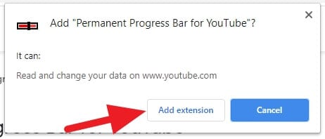 Add - How to Make Youtube Progress Bar Always Showing 7