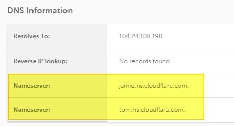 cloudflare - How to See What Hosting Service Used on a Website 13