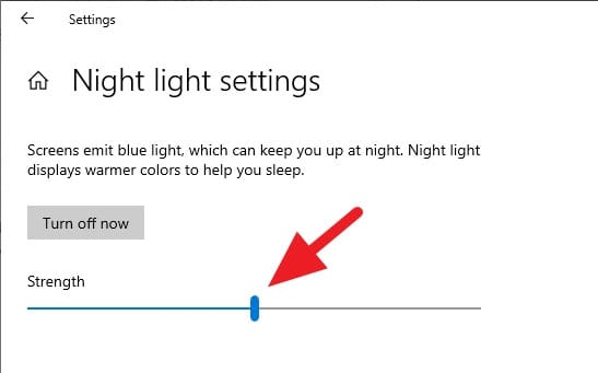 Night light settings - How to Enable Night Light on Windows 10 (Reduce Blue Radiation) 8