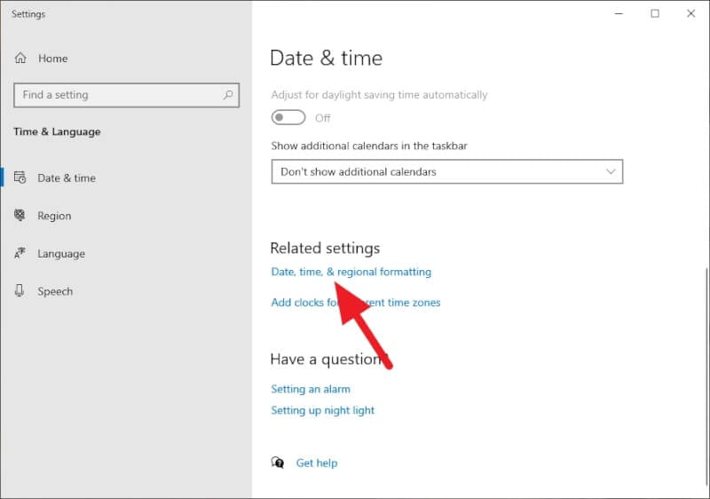 data time and regional formatting - How to Change Windows 10 Clock Format to 24-Hour 7