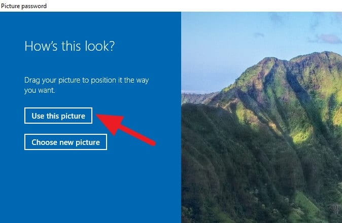 use this picture - How to Enable Picture Password on Windows 10 3