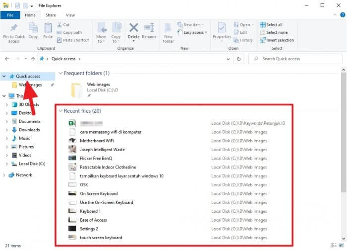 Recent files - 3 Methods to See Recently Opened Files on Windows 10 5