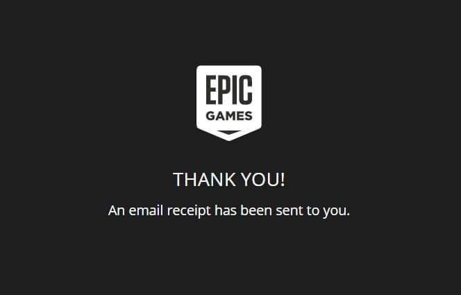 Thank You - How to Buy Game from Epic Store Using PayPal 17