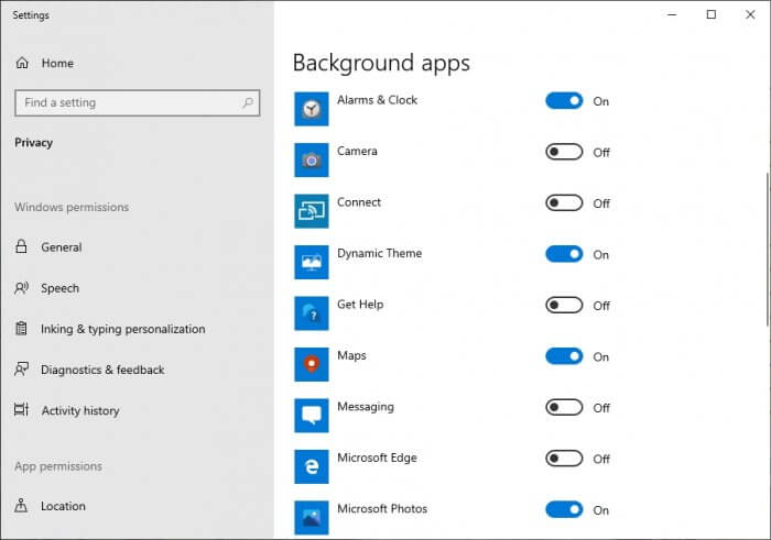 background apps 1 - 5 Tips to Speed-Up Antivirus Scan on Your PC 3