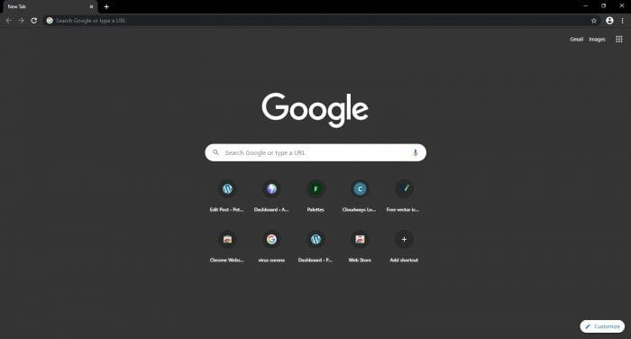 chrome dark - How to Enable True Night Mode on Chrome PC 9