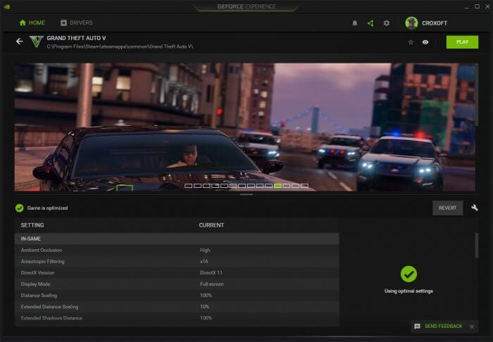 "game is optimized - How to Fix GeForce Experience ""Unable to retrieve settings"" 11"