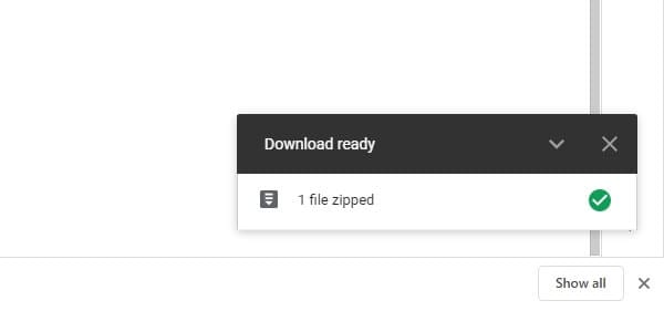 zipping process - How to See Folder Size on Google Drive: 3 Methods 7