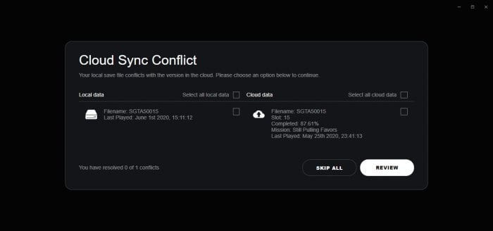 Cloud Sync Conflict - How to Open All Map in GTA V Instantly 15